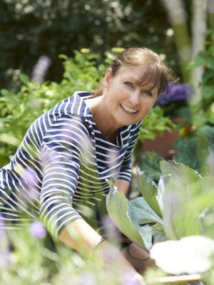 Karen in the garden