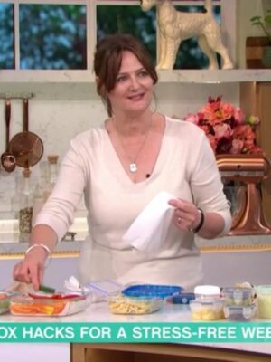 Justine Pattison in ITV This Morning Kitchen