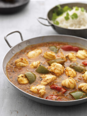 chunky monkfish curry