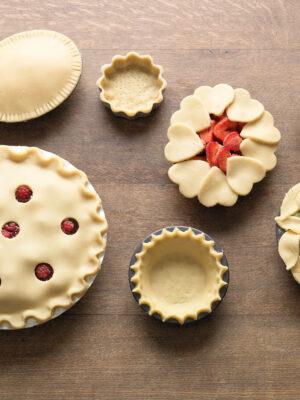 Pie decorations